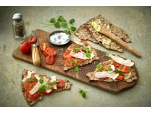 Zeta receptbild tomatmacka med BreOliv