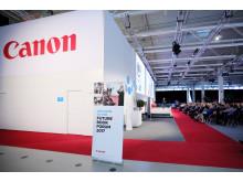 Canons besøkssenter i nærheten av München i Tyskland