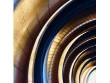 Golden wheels af Mariano Leon