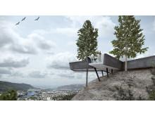 LINK arkitektur - Spiraltoppen  i Drammen