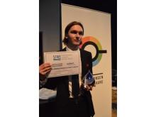 Eric Marcus - Vinnaren av 2016 års Svenska Juniorvattenvattenpris