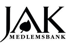 JAK Medlemsbanks Logotyp i svart