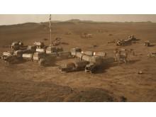 Kolonien på Mars