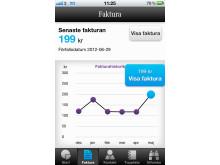 Mitt3-appen faktura