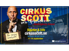 Cirkus Scott - premiär i en arena!
