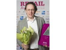 Vinnare Årets komet, Retail Awards 2012, Brandos
