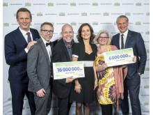 22 miljoner från PostkodLotteriet