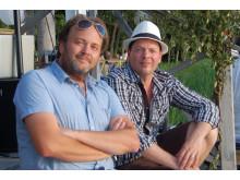 Robert Hoffman & Mats Tärnfors i Sjöboden