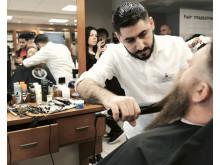 Mohammad Awais, Klippet Barbershop, Tibro