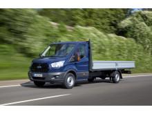 Ford Telematics med teknik från Telogis optimerar transportbilarnas effektivitet, och kan sänka bränslekostnaderna med upp till 20 procent