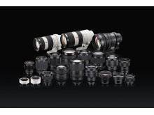 E-mount Lens lineup