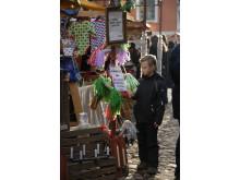 Julmarknad på Kulturen i Lund.