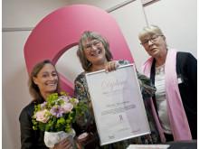 Barbro Linderholm får BRO:s utmärkelse