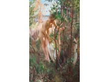 """Anders Zorn (1860-1920)             """"En Eva"""""""