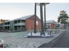 Mitt gröna kvarter i Vivalla, nominerat till Örebro kommuns Byggnadspris 2015