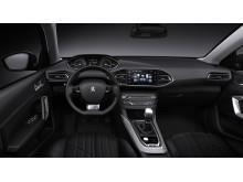 Nya Peugeot 308 med sin rymliga interiör