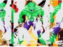 Jeff Koons, Triple Hulk Elvis III, 2007