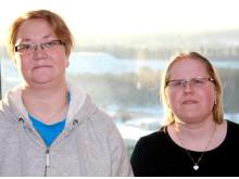 Veronica Andersson och Sari Lassila - Degerfors