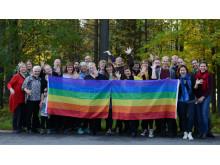 Ålidhems församling peppar inför Umeå Pride