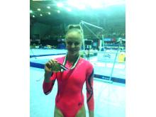 Jonna Adlerteg, guld i barr, world challenge cup