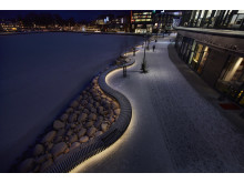 LILLSJÖRADEN OCH LILLSJÖPLAN, JÖNKÖPING - ett av de nio projekt som kan vinna Svenska Ljuspriset i år.