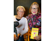 Gynekolog Annika Valentin och modejournalisten Hulda Andersson pratar om endometrios i podden Freja.