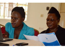 MyChild System refreshers training in Mukono District