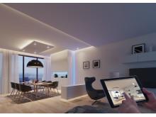 Kontrollera din belysning med en app - Häfele Connect gör det möjligt!