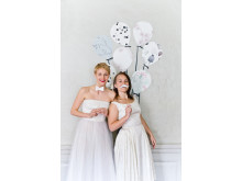 Photowall ❤ Vintagefabriken – wallpaper ballons