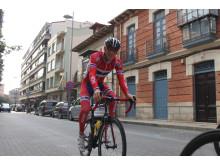 Sindre Lunke under trenging sykkel-VM 2014
