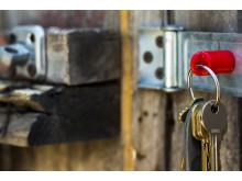 Supermagnet -  nycklar