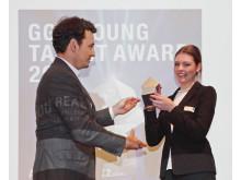 Bachelorabsolventin der Technischen Hochschule Wildau mit dem zweiten Preis des GGS Young Talent Award 2014 ausgezeichnet