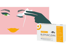 Blephaclean illustration