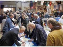 Stort intresse bland besökarna på Swanson's Amerikadag 2018