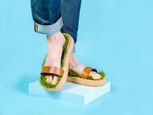 Somersby Grass Slippers pair