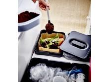 IKEA vill inspirera de många kunderna att leva mer hållbart liv hemma