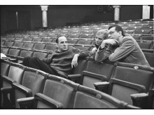 Ingmar Bergman, Gunilla Palmstierna-Weiss och Peter Weiss