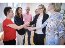 En avsiktsförklaring om bättre arbetsmiljö och nya lokala kollektivavtal för vårdpersonal har tecknats med Vårdförbundet och Kommunal.
