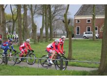 Damelandslaget på Landevei  i Energiewacht Tour 2014