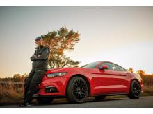 Verdens ældste Mustang-ejer