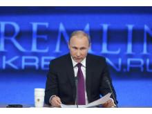 Illustrasjonfoto: Vladimir Putin, Russlands president.