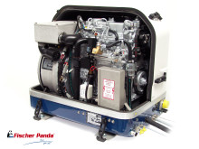 Hi-res image - Fischer Panda UK - Fischer Panda's new iSeries Panda PMS 19i Variable Speed Generator