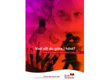 Studiefrämjandets höstkatalog med ca 300 kurser och aktiviteter.