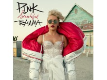 "P!NK - ""Beautiful Trauma"" albumomslag"