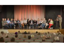 Lyckad premiär i Lindesberg för kultursamtalen i länet