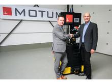 SSI Schäfer & MoTuM - AGV partnership