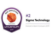 Sigma Technology - Top 2 Best Employer in Sweden
