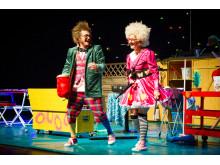 """Jecko och Jessie i showen """"Ett skratt för livet"""""""