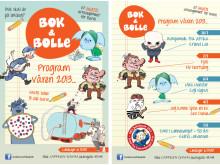 Bok & bolle våren 2013