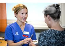 Doktoranden Emma Svennberg, screening via tum-EKG för upptäckt av förmaksflimmer